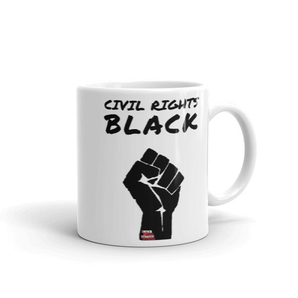 Civil Rights Black Coffee Mug