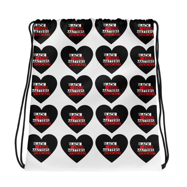 Black Love Matters Podcast Drawstring Bag
