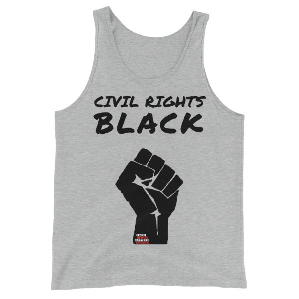 Civil Rights Black Unisex Tank Top